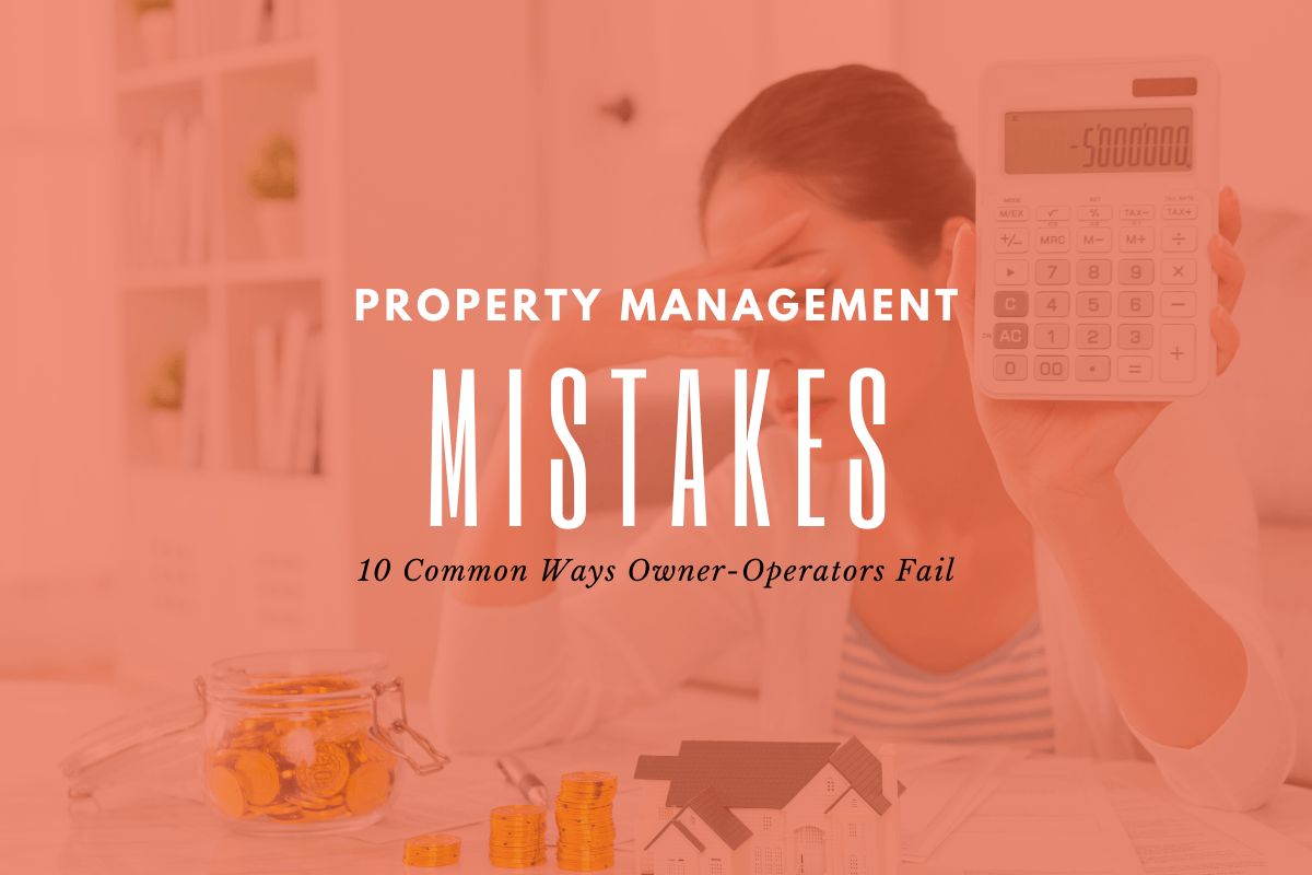Investment Property Mistakes