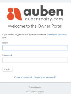 Auben Investor Portal Link